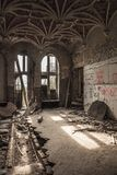 Urbex-Schloss Lizenzfreies Stockbild