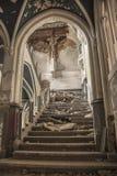 Urbex slott Royaltyfri Foto