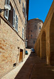 Urbino. The historic center of th eold town of Urbino in central Italy Stock Photography