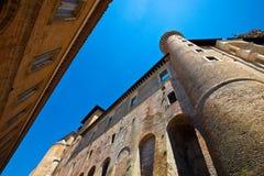 Urbino. The imposing Palazzo Ducale in Urbino Royalty Free Stock Photo