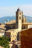 Urbino-Ansicht lizenzfreies stockbild