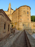 Urbino - Ducale Palace Royalty Free Stock Images