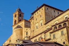 Urbino - Ducale Palace Royalty Free Stock Photos