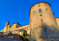 Urbino - Ducale Palace Royalty Free Stock Photography