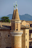 Urbino - Ducale Palace Royalty Free Stock Photo
