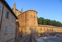 Urbino - Ducale Palace Stock Photo