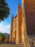 Urbino - Ducale slott Royaltyfri Bild