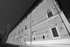 Urbino Italie, Palazzo Ducale Image libre de droits