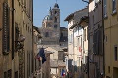 Urbino Italien Arkivbilder