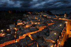 Free Urbino Italy, Night View Stock Photography - 105697802