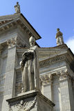 Urbino, Italy, September, 2014. The statue of Blessed Maynard Stock Photography