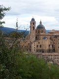 Urbino, Italy. View of the town of urbino italy Stock Image