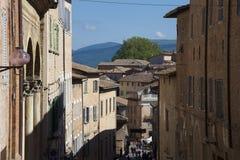Urbino, kunststad van het gebied van Marche, Italië, Europa Stock Afbeelding