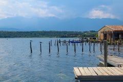 Urbino lake stock images