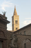 Urbino (Marches, Italy). Old buildings with belfry Royalty Free Stock Image