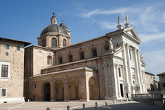 Urbino (Marches, Italy) - Historic church Stock Images