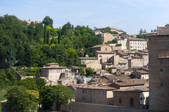 Urbino (Marches, Italy) - Old buildings Stock Photo