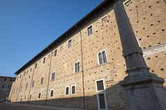 Urbino (Marches, Italy) - Palazzo Ducale Stock Photo