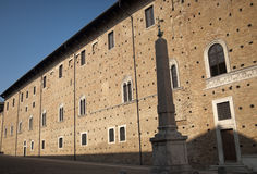Urbino (Marches, Italy) - Palazzo Ducale Royalty Free Stock Photos