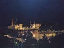 Urbino by Night stock image