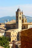 Urbino view royalty free stock image