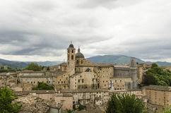 Urbino view. Urbino city view in Marche, Italy, A Unesco protected city, birthplace of Raphael Stock Photo