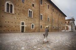 Urbino, Włochy Obrazy Royalty Free