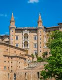 Urbino, city and World Heritage Site in the Marche region of Italy. royalty free stock images