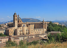 Urbino widok Zdjęcie Stock