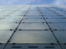 Urbis Gebäude-Fassade in Manchester Stockbild