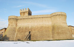 Urbisaglia fortress Stock Photo