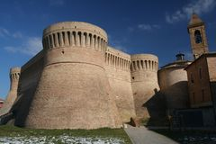 Urbisaglia Fortress Royalty Free Stock Image