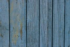 Urblekt målarfärg på trä Royaltyfri Foto