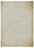 Urblektt ark av gammalt papper Royaltyfri Fotografi