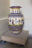 Urn. Romanian traditional urn expose in a museum Stock Image