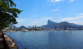 Urca Beach in Rio de Janeiro, Brazil Stock Photos