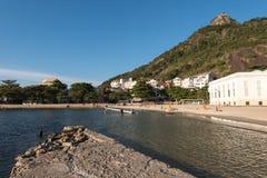Urca Beach in Rio de Janeiro Stock Images
