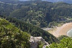 Urdaibai biosphere reserve. Urdaibai natural area in north coast of Basque country, Spain stock photo