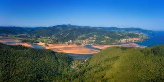Urdaibai marsh. In Basque Country royalty free stock photos