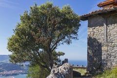 Urdaibai biosphere reserve. Urdaibai natural area in north coast of Basque country, Spain royalty free stock photo