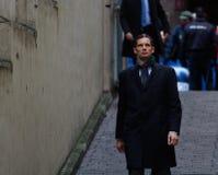 Urdangarin. Duke of Palma, inaki urdangarin arrives to court to testify on a case evolving fraud Stock Photo