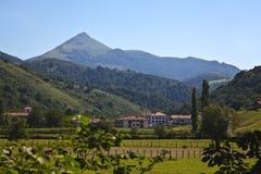 Urdax y Pyrenees Imagen de archivo libre de regalías