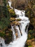 Urederra falls Stock Photo