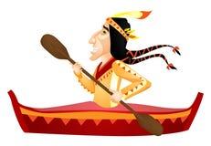Ureinwohner stock abbildung