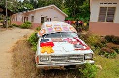 Ureinwohner-Dorf (Orang-Utan Asli). Lizenzfreie Stockfotos
