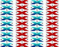 Ureinwohner-Tapisserie Lizenzfreies Stockbild