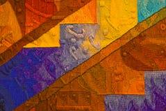 Ureinwohner-Tapisserie stockbild