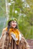 Ureinwohner von Kamchatka-Tanzen auf Tanzmarathon lizenzfreies stockfoto