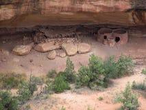 Ureinwohnerhäuser Stockbilder