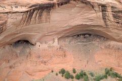 Ureinwohnerruinen in Canyon de Chelly stockfotos